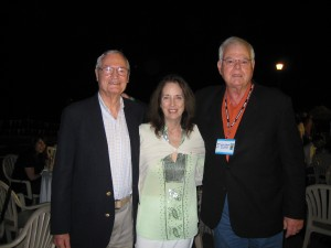 Roger and Julie Corman with Author at 2008 Puerto Vallarta Film Festival