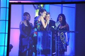 Rhianon & Sam at Emmys