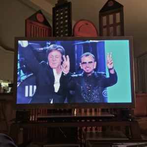 Sir Paul McCartney and Ringo Starr at the Grammys