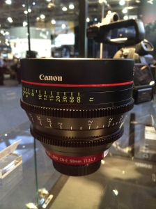 Cannon Cinema Lens